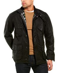 Barbour Icons International Wax Jacket - Black