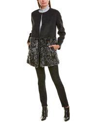 Weekend by Maxmara Weekend Max Mara Wool Coatdress - Gray
