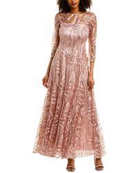 Tahari Tahari Asl Gown - Pink