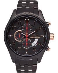 Brandt & Hoffman Men's Sagan Watch - Black