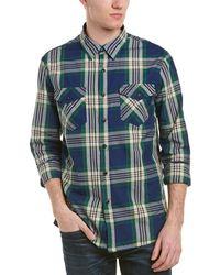 Jachs Classic Fit Woven Shirt - Green