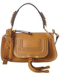Chloé Marcie Baguette Small Leather Shoulder Bag - Multicolour