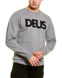 Deus Ex Machina All Caps Sweatshirt - Grey