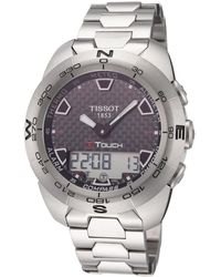 Tissot T-touch Watch - Metallic