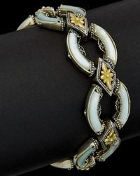 Konstantino - 18k & Silver Mother-of-pearl Cuff - Lyst