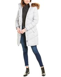 Barbour Sternway Quilted Coat - White