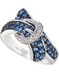 Le Vian - ® 14k 1.06 Ct. Tw. Diamond & Ceylon Sapphire Ring - Lyst