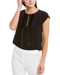 ESCADA Silk Top - Black
