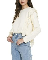 English Factory Knit Top - White