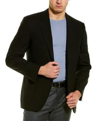 Canali Wool Blazer - Black