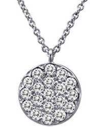 Meira T 14k 0.25 Ct. Tw. Diamond Necklace - Metallic