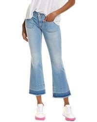 Stella McCartney Zaffiro Skinny Kick Jean - Blue
