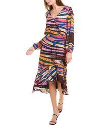 Parker Elizabeth Silk-blend Maxi Dress - Multicolour
