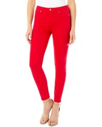 Liverpool Jeans Company Pant - Red