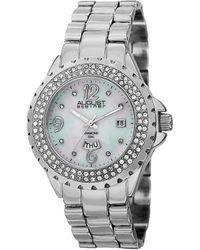 August Steiner \t Diamond Watch\t - Metallic