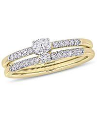 Rina Limor 14k 0.42 Ct. Tw. Diamond Ring - Metallic