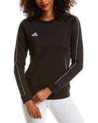adidas Core18 Sweat Top (black/white) Sweatshirt