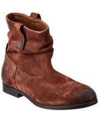 Birkenstock Sarnia Suede Boot - Brown