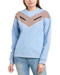10 Crosby Derek Lam Crew Sweatshirt - Blue