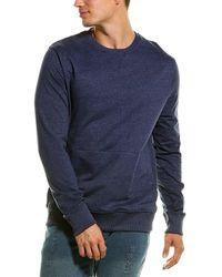 Stone Rose Crewneck Sweater - Grey