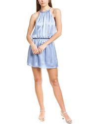 Parker - Judith Silk Mini Dress - Lyst