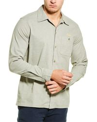 Deus Ex Machina Manila Woven Shirt - Brown