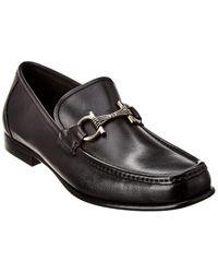 Ferragamo Swan Loafer - Black