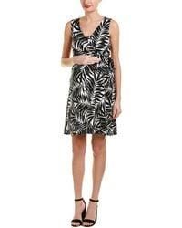Everly Grey - Maternity Tania Wrap Dress - Lyst