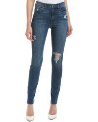 Joe's Jeans - The Charlie Allura High-rise Skinny Ankle Cut - Lyst