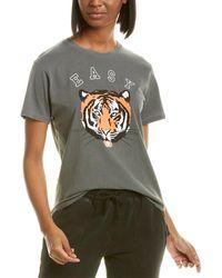 Wildfox Keke Easy Tiger T-shirt - Black