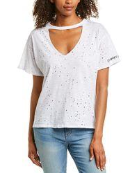Wanderlux Champagne Squad T-shirt - White