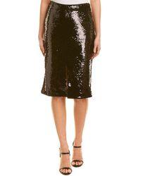 Ganni Sequin Skirt - Black
