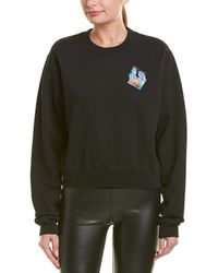 Off-White c/o Virgil Abloh T Micro Environment Crop Sweater - Black