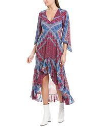 Ba&sh Usso Midi Dress - Blue