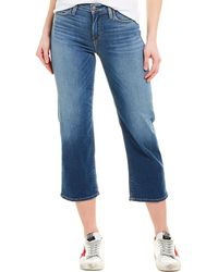 Hudson Jeans Stella Bondi Straight Crop - Blue