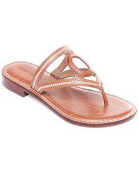 Bernardo Tania Leather Sandal - Pink