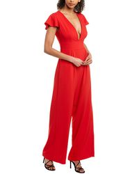 Hutch Jumpsuit - Red