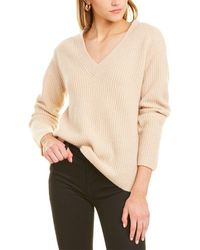 Vince Cashmere Sweater - Natural