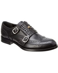 Gucci - Queercore Studded Brogue Monk Shoe - Lyst
