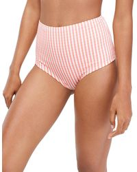 J.Crew Sofia Stripe High-waist Bottom - Pink