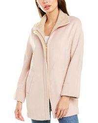 Club Monaco Remmi Wool-blend Coat - Pink