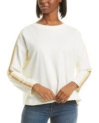 Chinti & Parker Open Back Sweatshirt - White