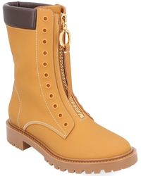 Dior Leather Boot - Brown