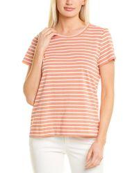 Lafayette 148 New York The Modern T-shirt - Pink