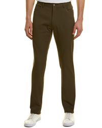 Vince Wool-blend Skinny Chino - Green