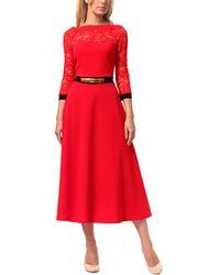 LADA LUCCI Lila Kass Dress - Red