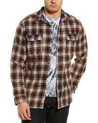 Original Paperbacks Montana Flannel Woven Shirt - Brown