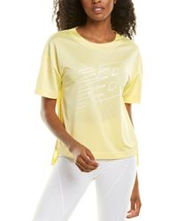 New Balance Archive Graphic Top - Yellow