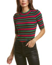 MILLY Ribbed Pullover - Multicolour
