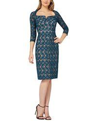 Kay Unger Dress - Blue